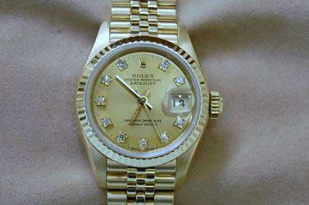 MONTRE ROLEX OYSTER DATEJUST OR MASSIF 18K