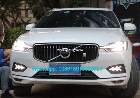 Volvo XC60 LED DRL day time running lights driving daylight