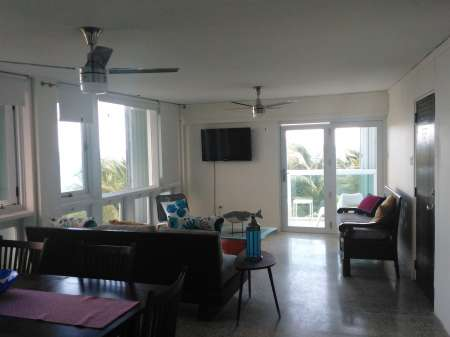 Beach Front Apartment in Puerto Rico