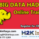 Become a Big data/Hadoop Professional with training provided by H2K Infosys LLC, USA