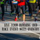 List Your Running and Race Event with Eventry