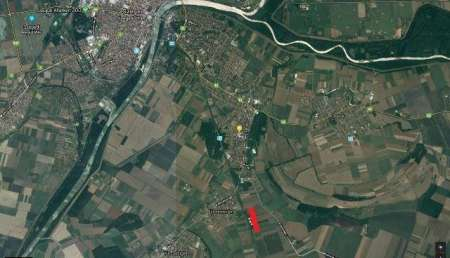 Building area is for sale in Szeged, Hungary
