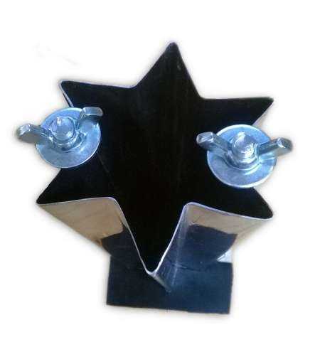 Star Candle molds 6 - point  from POLAND