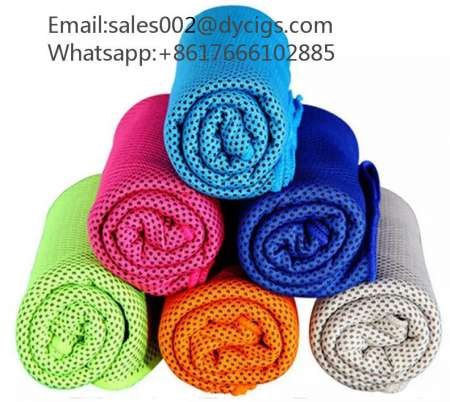Cooling Towel 30*100cm Camping Hiking Gym Exercise Workout Towel sales002@dycigs.com