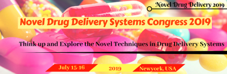 Novel Drug Delivery Systems Congress 2019