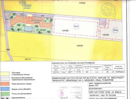 Investment land for villas or Spa complex near Sunny beach resort