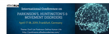 Parkinson's, Huntington's And Movement Disorders- International Conference