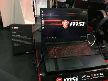 MSI NOTEBOOK FOR SALE