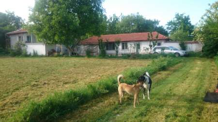 House with Bungalow & Outbuildings on 2000m2 land - 15 mins from market town near the European Culture capital of Plovdiv