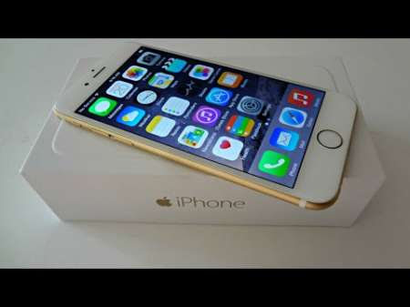 Gold iPhone 6 Samsung S6